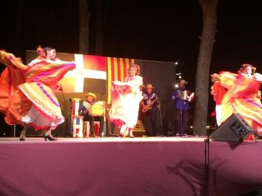Palo Misterio. Ballet folklòric dominicà. La Pineda, Pinar del Perruquet, passeig marítim. Jornades d'homenatge a la cultura dominicana.