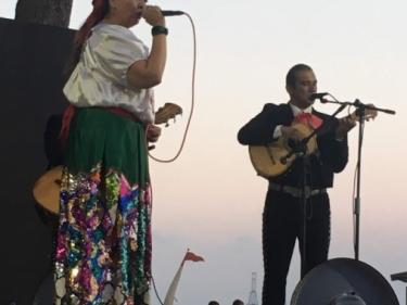Mariachi Semblanza. Actes d'homenatge a la cultura mexicana. Pinar del perruquet. La Pineda, Vila-seca.