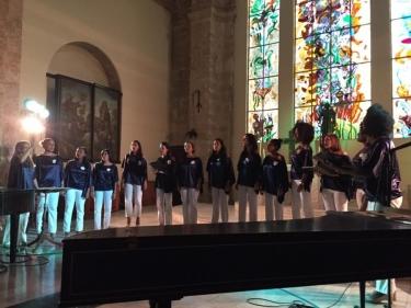 Coro Luna. Directora: Maribel Nodarse. Iglesia de Paula, La Habana, Cuba 13 de diciembre 2018.