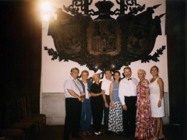 En La Habana, Mesa Redonda dedicada a José Ardévol, Josep Poble, Joan Rigol, C. Tieles, Joan Tortajada
