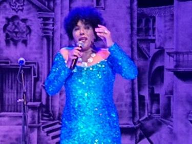 Festival de Habaneras de La Habana. Emilia Morales, Gala Clausura 9 noviembre 2019, Teatro América, La Habana, Cuba.