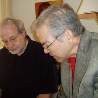 Cecilio Tieles y Carles Guinovart