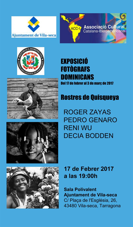 Exposició de Fotògrafs Dominicans 'Rostres de Quisqueya' Febrer 2017