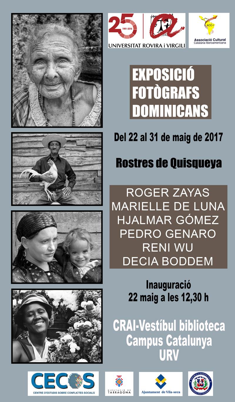 Exposició de Fotògrafs Dominicans 'Rostres de Quisqueya' Maig 2017