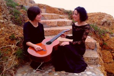 Duo A1veu. Alba Fortuny Llorach, veu. Irene López Celestino, guitarra