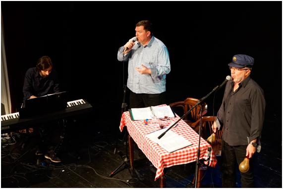 Grup Habana vieja. Gerard Moreno, baix Jordi Margalef, tenor Pere Domènech, tenor