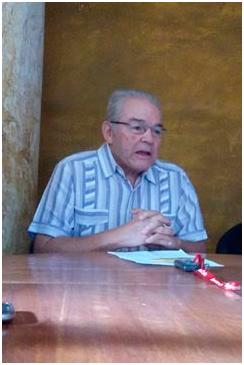 El Maestro Cecilio Tieles, organizador del evento.