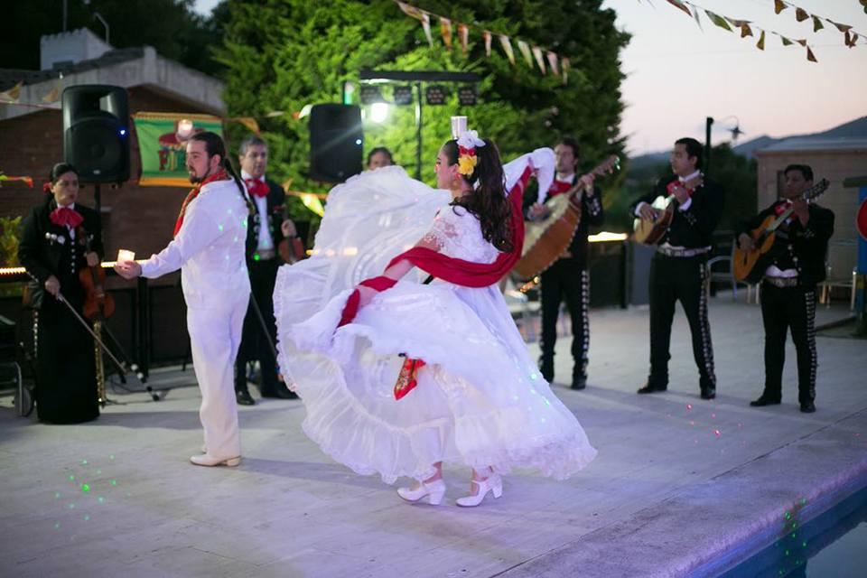 ACCI, Homenatge a la cultura mexicana 2018. Clàudia Torres, la voz de Plata i Mariachi Internacional de Barcelona.