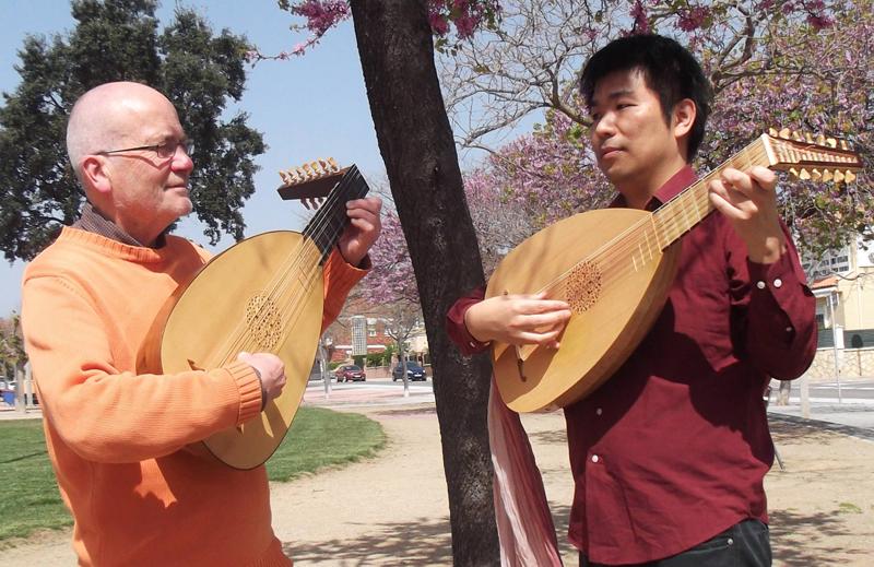 23è Cicle de Música Catalana-iberoamericana 2018. Satoshi Tsukada i William Waters Música Anglesa i Tradicional Catalana per a Duet de Llaüts